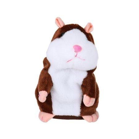 Little Stuffed Animals (Electric Smart Little Talking Hamster Record Repeat Stuffed Plush Animal Kids)