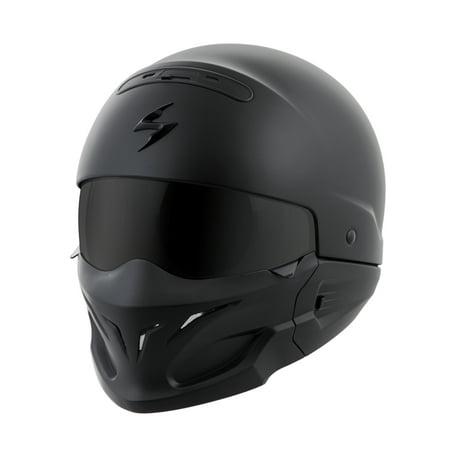 Scorpion Covert Convertible 3 in 1 Motorcycle Half Helmet