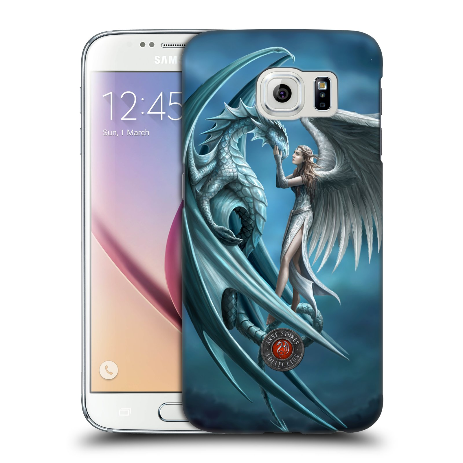 OFFICIAL ANNE STOKES DRAGON FRIENDSHIP HARD BACK CASE FOR SAMSUNG PHONES 1