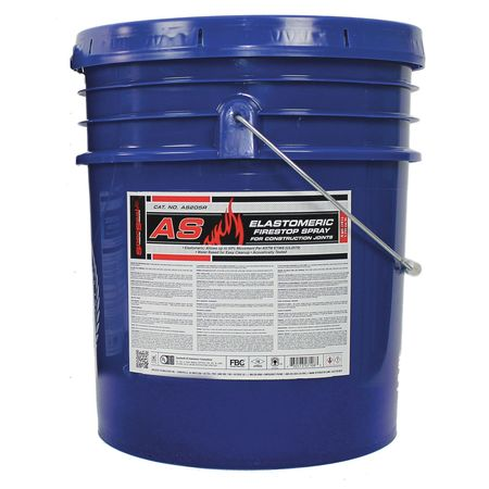 Fire Barrier Spray,5 gal.,Red SPECSEAL AS205R