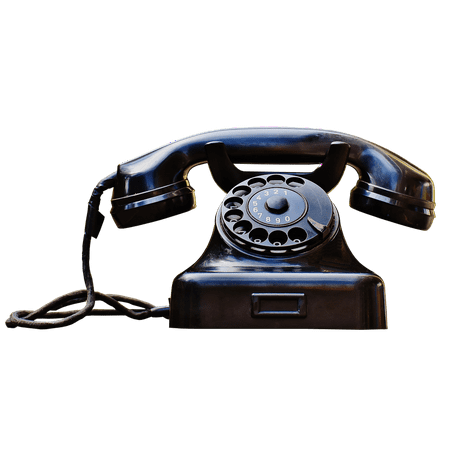 Canvas Print Telephone Handset 1955 Phone Old Year Built 1955 Stretched Canvas 10 x (Best Phone For 14 Year Old)