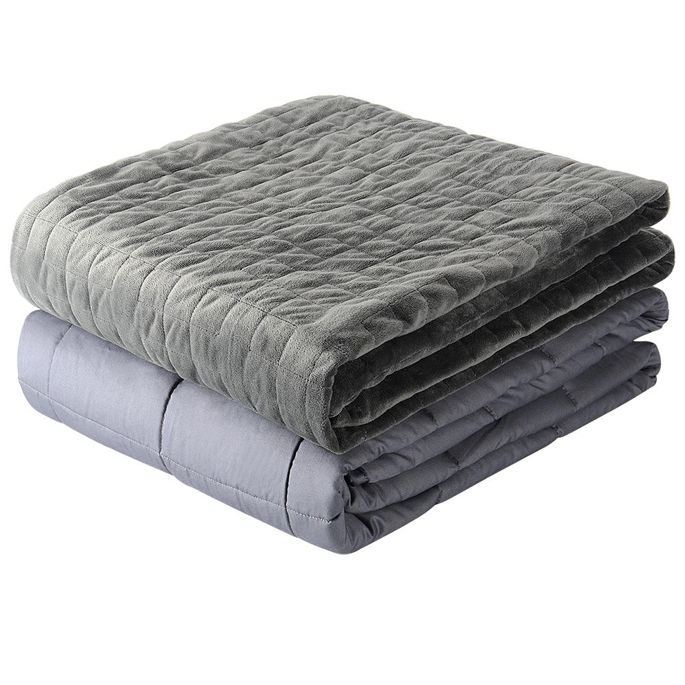 """LIVINGbasics 15lbs Weighted Blankets with supper soft Cover,48x72"""" - image 8 of 8"""