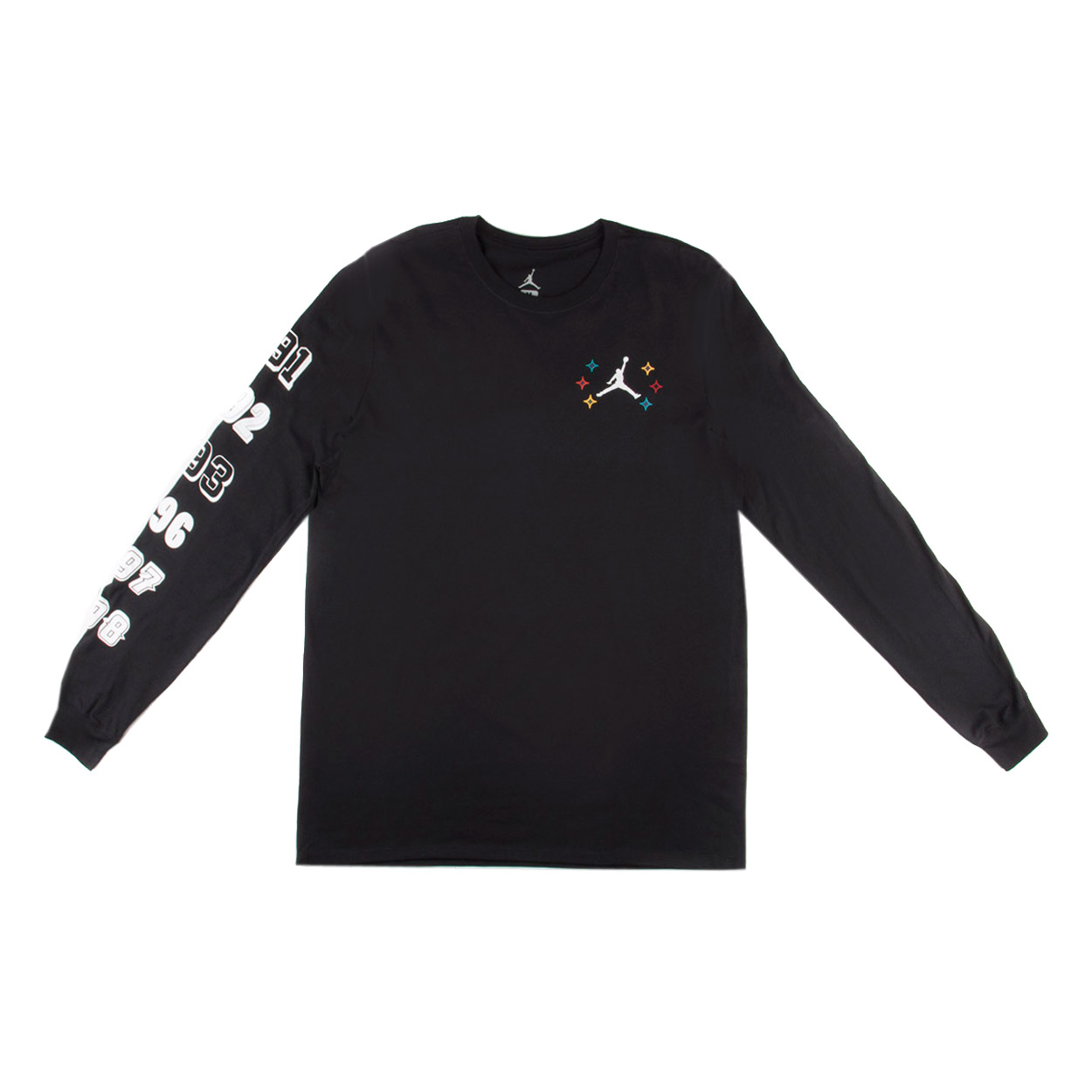 "Nike Mens Air Jordan Long Sleeve T-shirt ""6 Championships..."