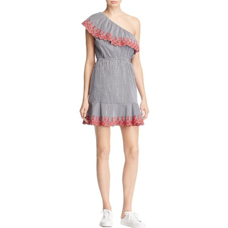 Lucy Paris Womens Gingham One Shoulder Casual Dress](Lucy Dress Peanuts)