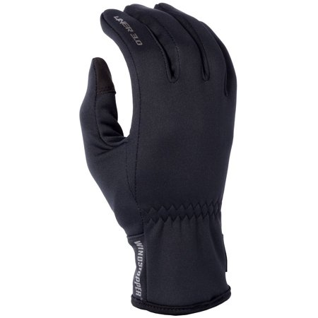 3.0 Liner Men's Snow Snowmobile Gloves - Black / Small, Complete WINDSTOPPER protection adds maximum warmth inside your KLIM gloves while increasing outside-the-glove.., By KLIM from USA thumbnail