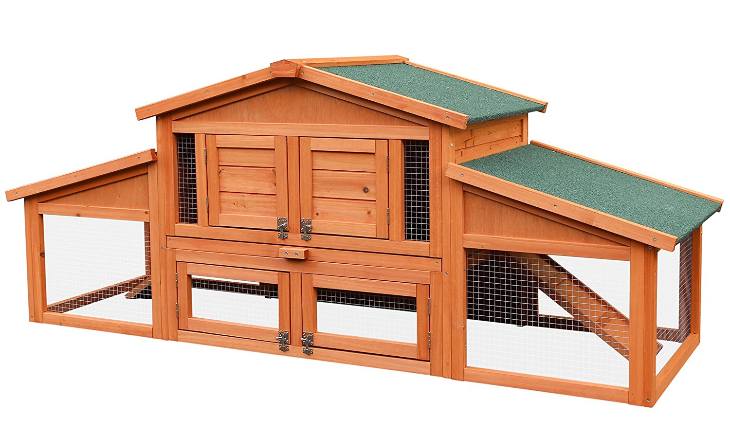 Merax Outdoor Rabbit Hutch Pet Home for Small Animals by Merax