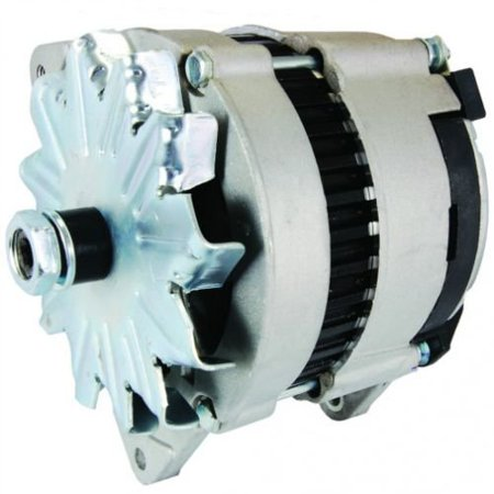 Alternator - Lucas Style (12091), New, Ford, E3NN10B376AB, Lucas, 24256,  Massey Ferguson