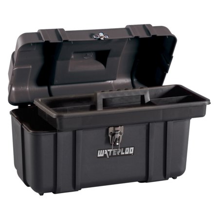 Waterloo 17 in. Plastic Tool Box for $<!---->