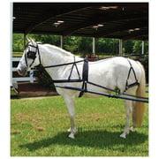 Tough-1 Nylon Driving Harness - Tough- 1 Nylon Harness, Black, Horse