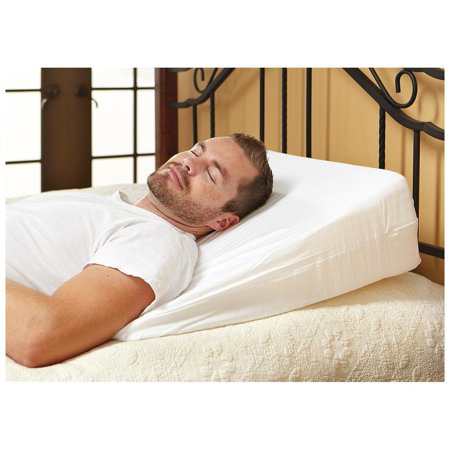 Luxury Foam Wedge Pillow - Support Sleep Pillow, Acid Reflux Wedge Pillow