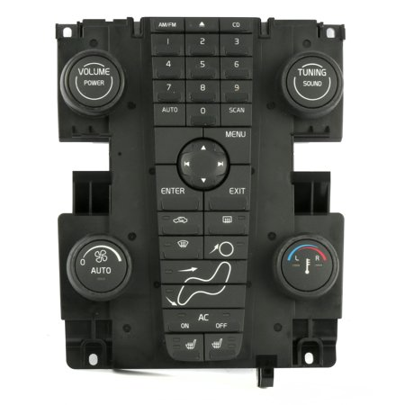 2004-2007 Volvo 30 40 50 Series Audio Control Panel Climate Control Part 8697155 - Refurbished