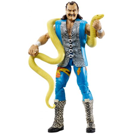 76f8d50ec1be02 WWE Elite Collection Flashback Series Jake The Snake Roberts Figure -  Walmart.com