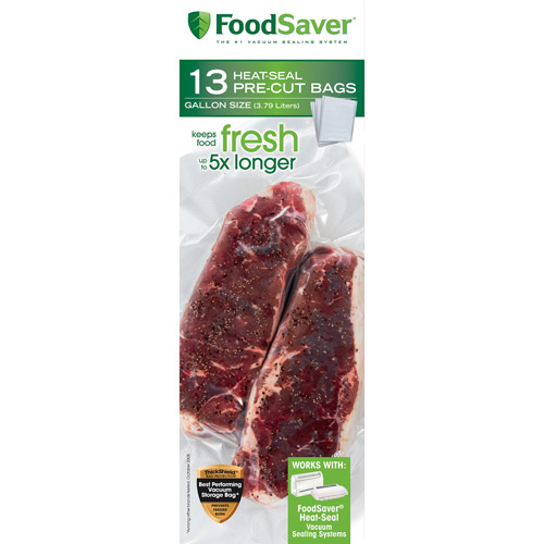 FoodSaver Gallon-Size Bags, 13-Count