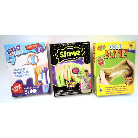 BOYS HAVE FUN TOYS Make Your Own Slime Goo by You (LISTING IS FOR ONE RANDOM SLIME STYLE