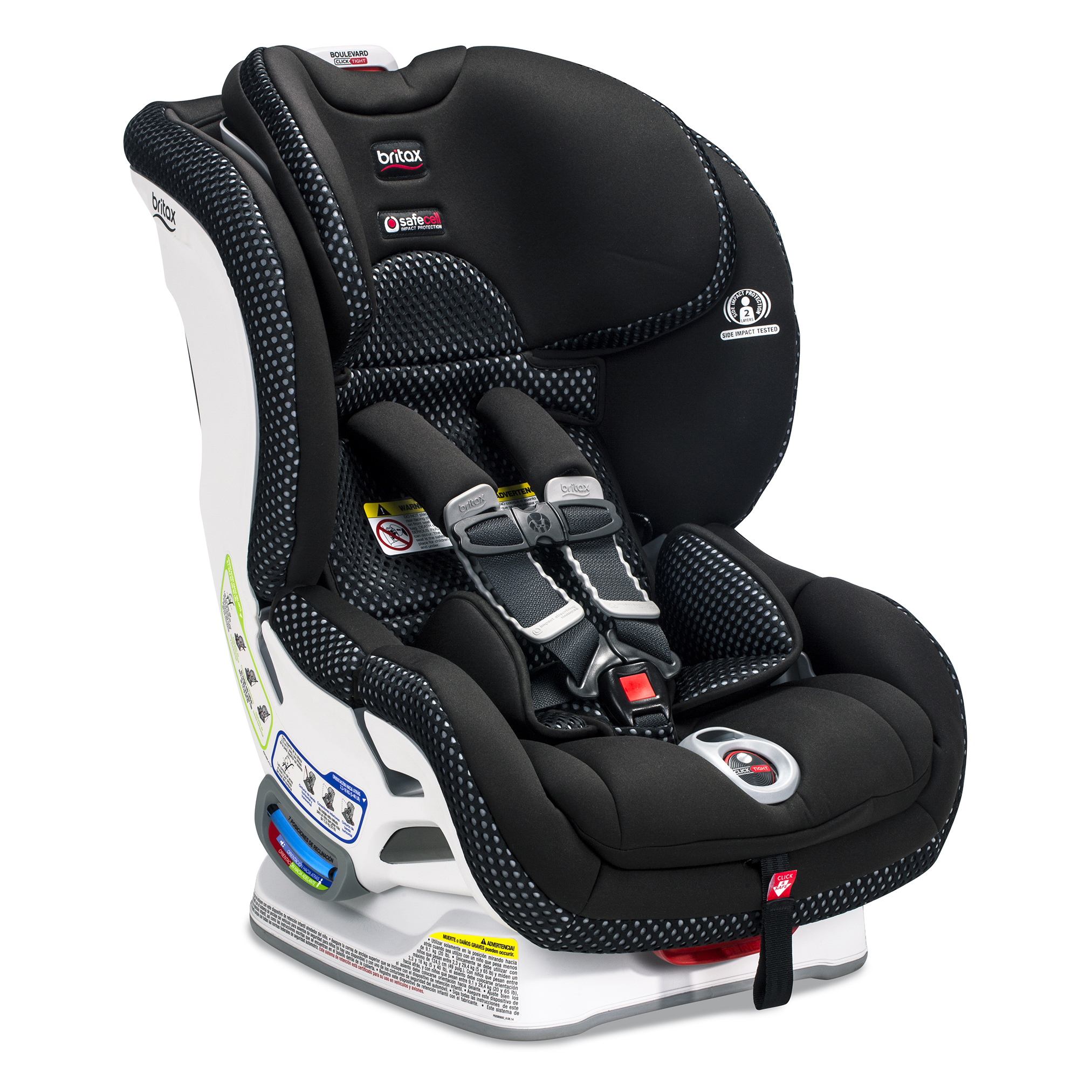 Britax® Boulevard™ ClickTight™, Cool Flow Collection, Grey