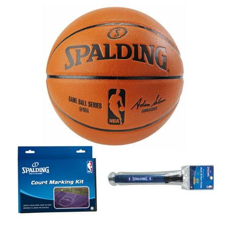 63ec2edebd0 Spalding NBA Official Size Replica Game Basketball (29.5