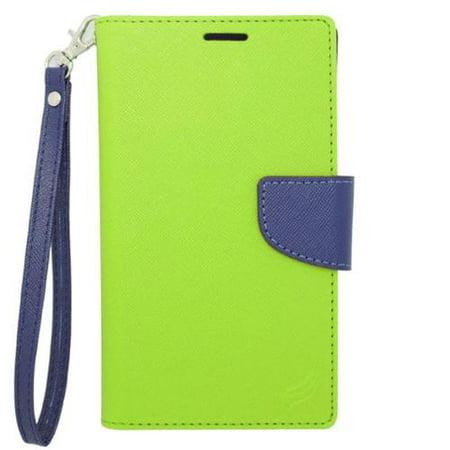 Insten Folio Leather Case For iPhone 6 Plus/6s Plus,LG G5/G3/G2,Motorola Droid Turbo 2 Moto X(2nd Gen),Galaxy Note 2 1 S5 S6 S6 S7,ZTE Warp Elite/ZMAX 2 - Green ()