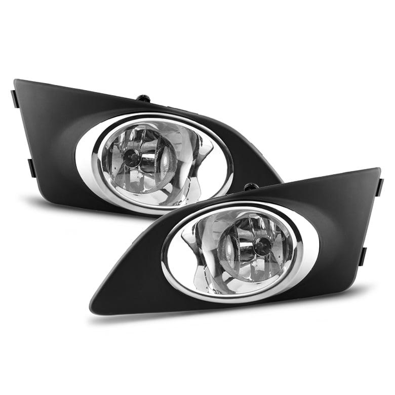 2012-2016 Chevrolet Sonic Base LS LT LTZ ZMX Fog Lights w/Original Style Switch Complete Kit Pair L + R 2013 2014 2015