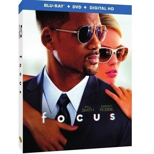 Focus (Blu-ray + DVD + Digital HD With UltraViolet)