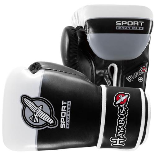 Hayabusa Sport 16 oz Training Boxing Gloves - Black