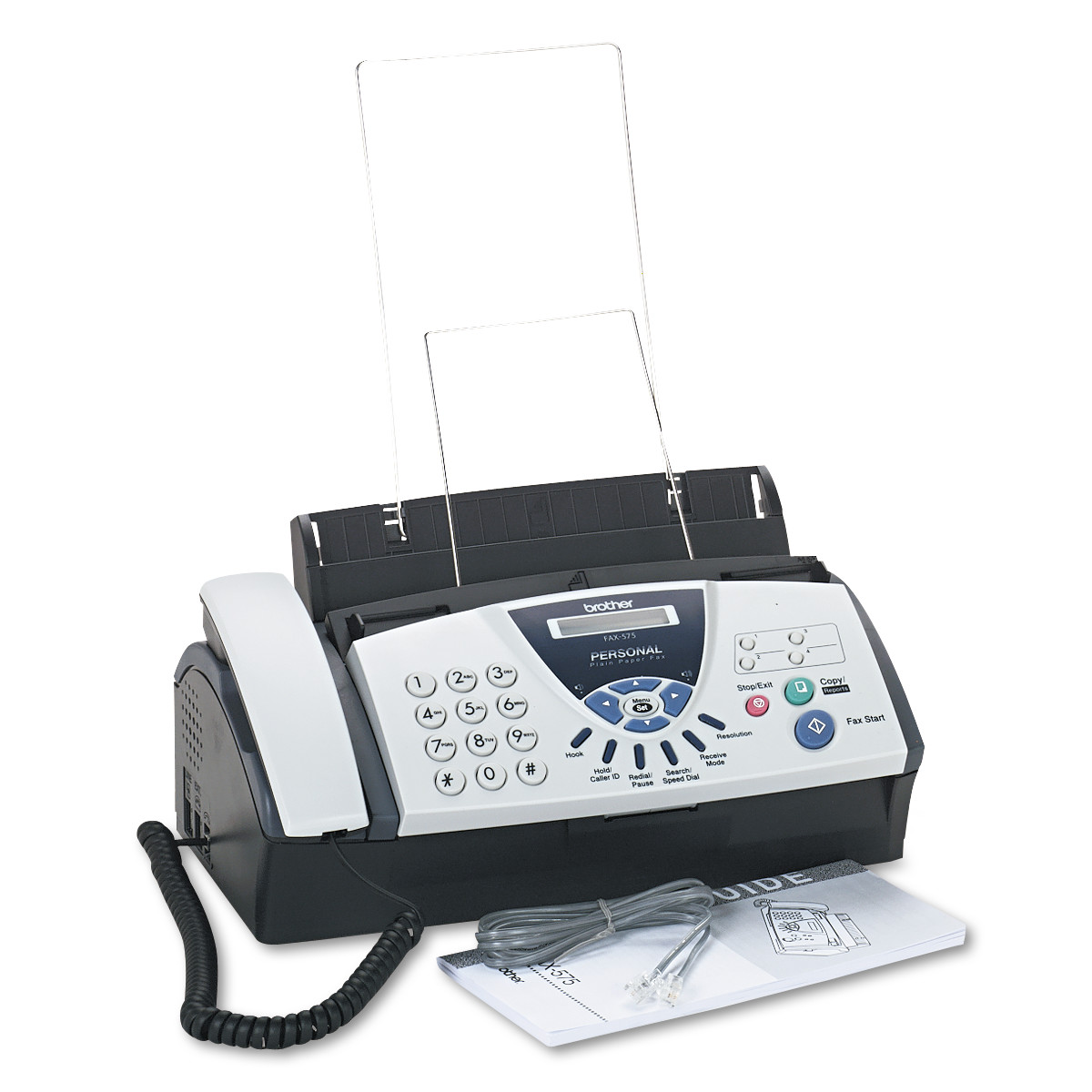Brother FAX-575 Personal Fax Machine, Copy/Fax