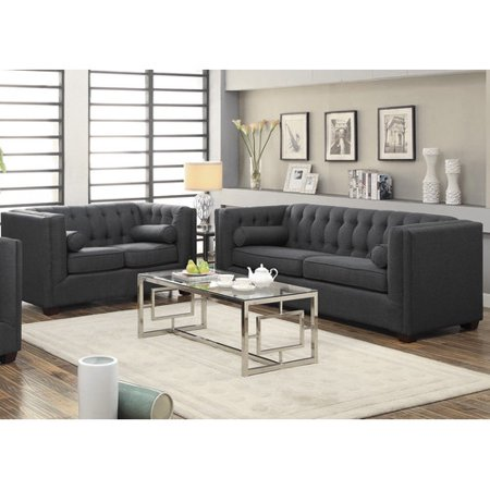 Infini furnishings 2 piece living room set for 7 piece living room set with tv