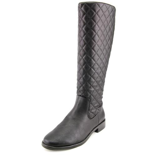 Aerosoles Establish Women Round Toe Synthetic Black Knee High Boot by Aerosoles