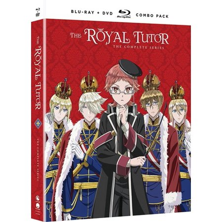 Royal Red Series - The Royal Tutor: The Complete Series (Blu-ray + DVD)