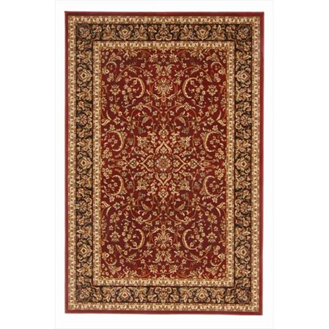 Radici 1318-1530-BURGUNDY Noble Rectangular Burgundy Traditional Italy Area Rug, 3 ft. 3 in. W x 5 ft. 4 in. H - image 1 of 1