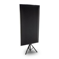 Pyle PSIP24 - Sound Absorbing Wall Panel Studio Foam Acoustic Isolation & Dampening Wedge with Stand