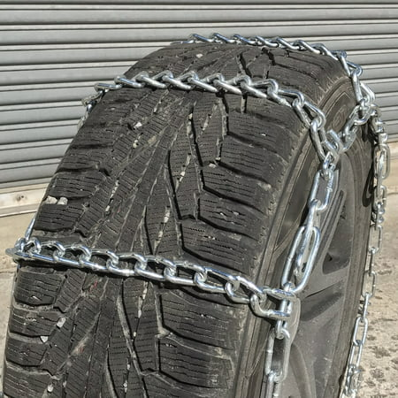 Snow Chains 1-24.5 , 1 24.5  V-BAR Cam Tire Chains, priced per pair. - image 1 of 3
