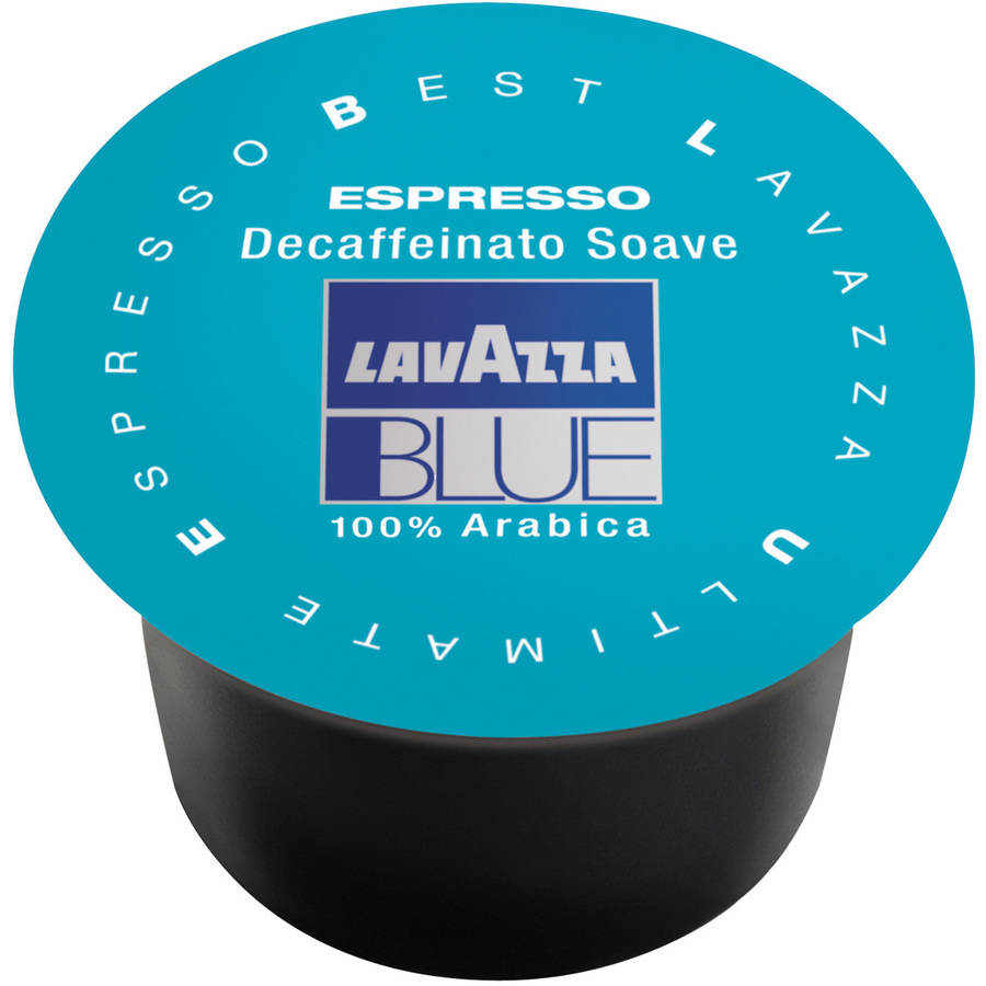 Lavazza Blue Decaffeinated Medium Roast Coffee Capsules, 8g, 100 count