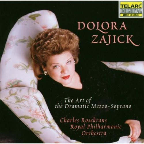 "Dolora Zajick, by virtue of her brilliant accounts of roles such as Azucena and Amneris (from Verdi's 'Il Trovatore' and 'Aida,' respectively), has managed to distinguish herself as a preeminent mezzo-soprano in a field crowded with very talented singers. Her debut recital album is aptly titled THE ART OF THE DRAMATIC MEZZO-SOPRANO as it features selections that unequivocally showcase her remarkable technique, versatility, and magnificent voice, and a commanding, powerful style that places her in line to assume the legacy of great mezzos of the past such as Ebe Stignani and Fiorenza Cossotto.<BR>Zajick shows why she's considered a genuine Verdi mezzo with four selections from the great composer's canon. She easily handles the technical difficulties and puts forward forceful accounts of arias such as ""O don fatale"" from 'Don Carlo' and ""La luce langue"" from 'Macbeth,' and delivers a tour de force with ""Una macchia e qui tuttora,"" also from 'Macbeth.' Zajick highlights her versatility and command of various styles through the works of composers as diverse as Rossini, Cilea, Tchaikovsky, Saint-Sa������ns, and Gluck, and demonstrates her vocal prowess by performing some pieces more often associated with sopranos."
