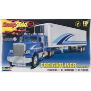 SnapTite Plastic Model Kit-Freightliner & Trailer 1:32