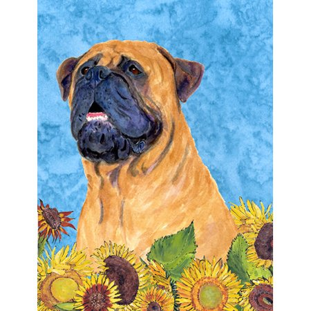 Caroline's Treasures Bullmastiff 2-Sided Garden Flag