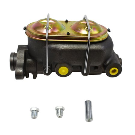 """A-Team Performance MC1321H - Cast Iron 1"""" Bore Master Cylinder, Corvette Style Universal w/ 4 ports - image 1 of 4"""