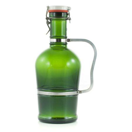 Standard Handle Green Glass 2 Liter
