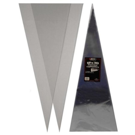 (1) 12X30 Pennant Topload Holders - Rigid Plastic Sleeves - Brand, Holds Pennant Sports Flags By BCW (Sports Flags Coupon Code)