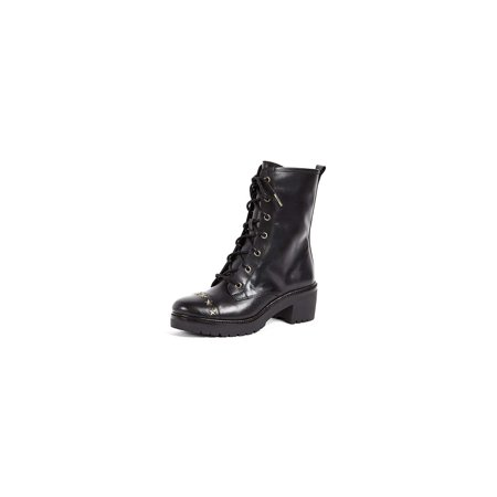 Michael Michael Kors Women's Cody Star Studded Combat Boots (Michael Kors Boots For Big Kids)