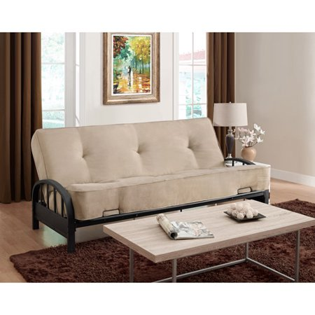 DHP Aiden Metal Futon Frame and mattress
