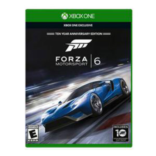 """Microsoft Forza Motorsport 6 RK2-00001 Microsoft Forza Motorsport 6 - Racing Game - Xbox One"""