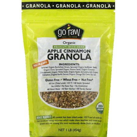 Go Raw Granola, Apple Cinnamon, Organic - Walmart.com
