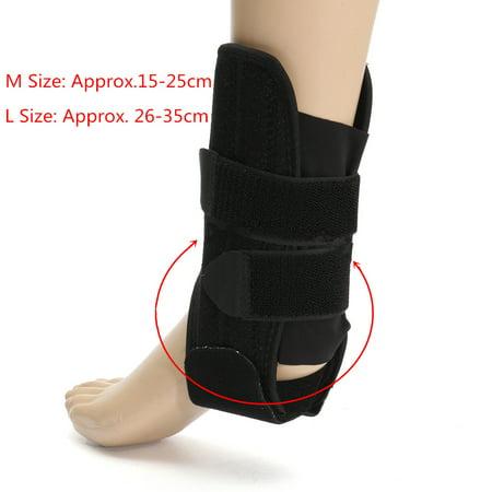 Adjustable ANKLE BRACE SUPPORT Compression Sports Stabilizer Elastic Foot Wrap - image 4 de 6