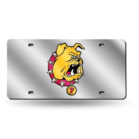 Ferris State Bulldogs NCAA Laser Cut License Plate Tag