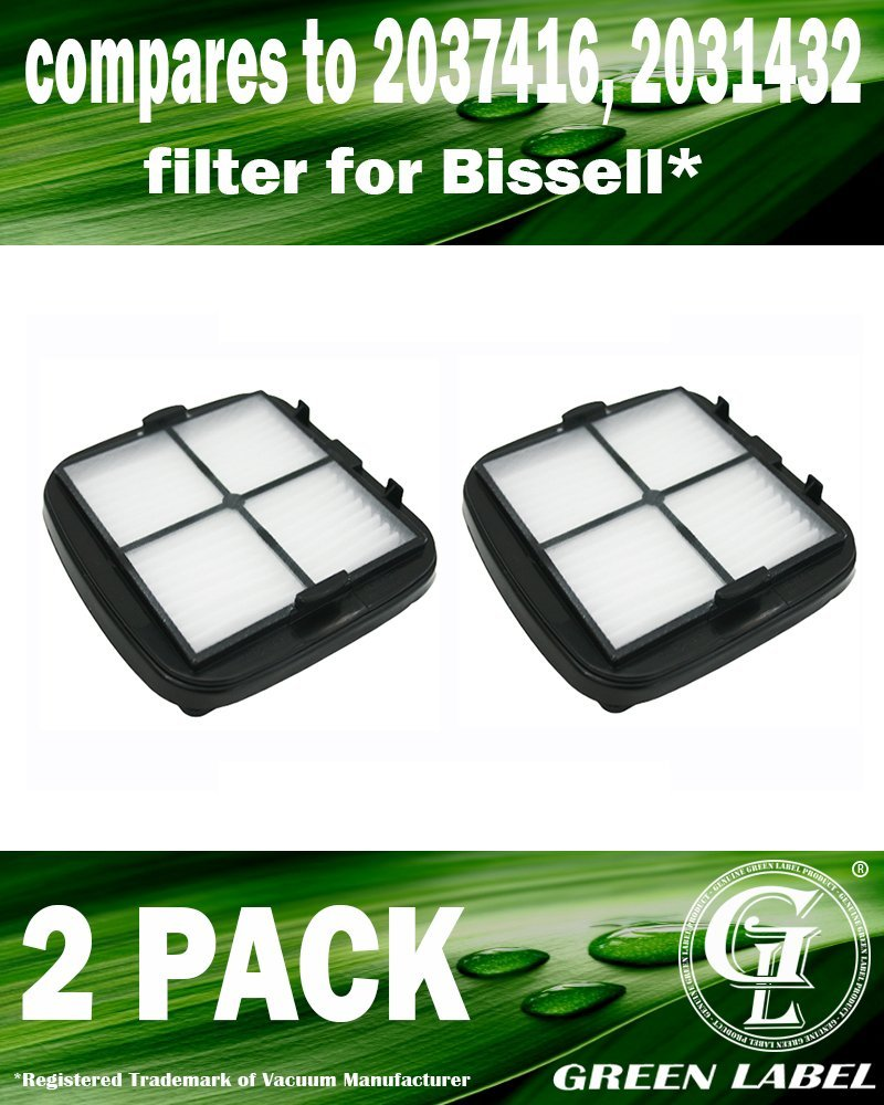 Auto-Mate Handleld Vacuum Cleaners Fits: 47R5 33A1 Series /& 27K6 Green Label Replacement HEPA Filter 97D5 for Bissell Pet Hair Eraser 35V4 37U6E CleanView Deluxe
