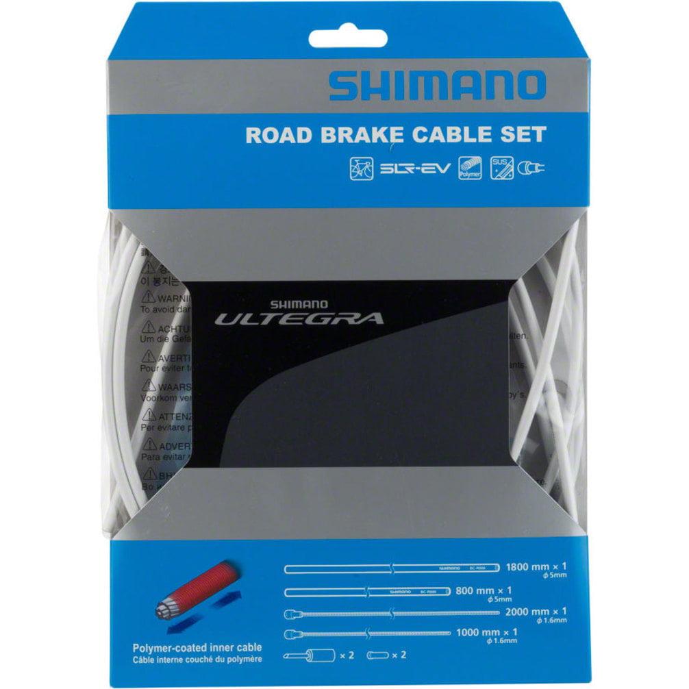Shimano Ultegra R680 Polymer-coated Brake Cable Set White