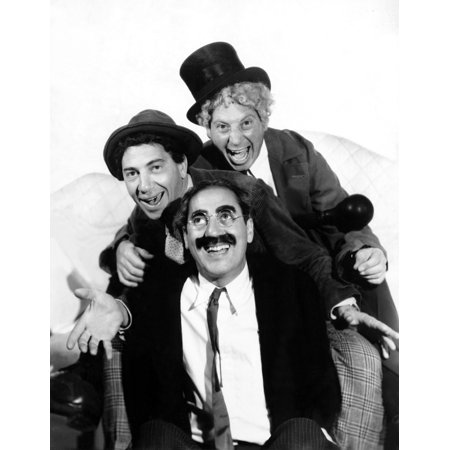 Marx Brothers The Pose For A Publicity Portrait During Production Of A Night At The Opera 1935 Photo Print