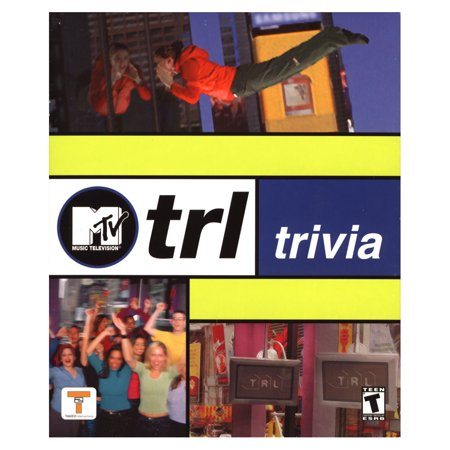 MTV TRL Trivia for Windows PC- XSDP -21090 - Based on the Huge Hit show: MTV TRL! Everyone will have a blast playing this exciting, fast-paced pop-culture trivia game. Now's your chance to show o ()