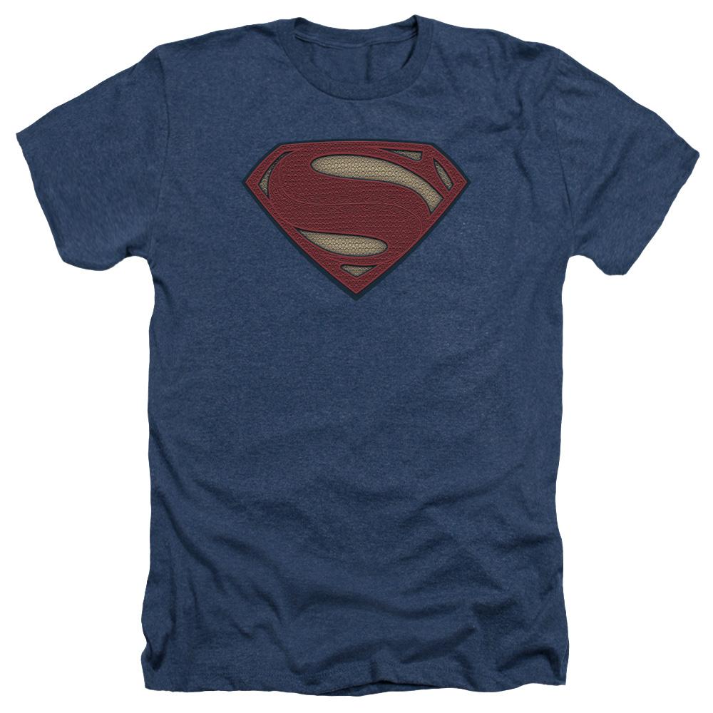 Batman Vs Superman Super Movie Logo Mens Heather Shirt
