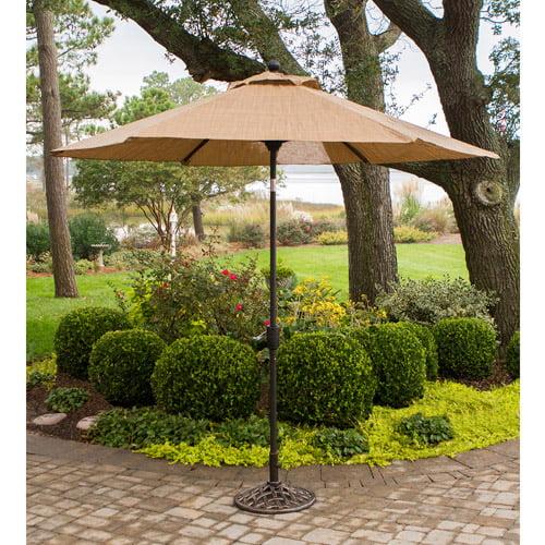 Hanover Monaco 9' Tiltable Umbrella